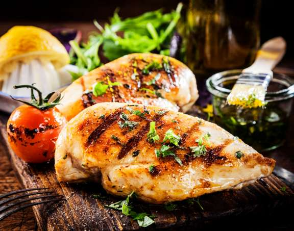 JGA - Grillkurs in Deutschland - Grilled Chicken