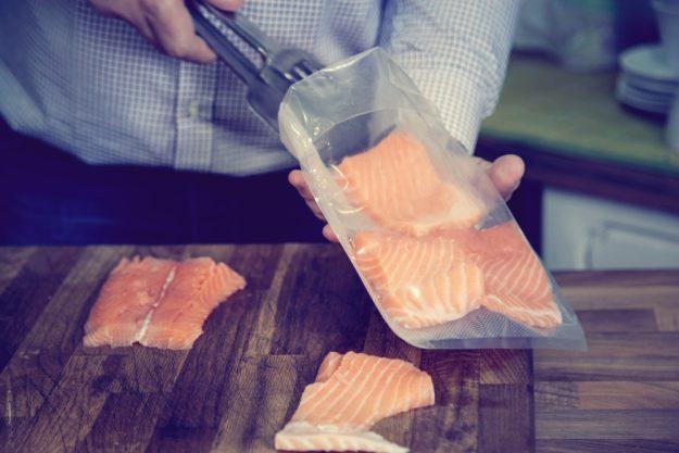 Fisch-Kochkurs Wien – Lachsfilet Sous Vide garen