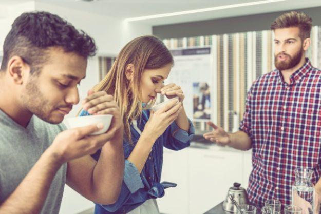 Barista-Kurs-Gutschein –Sensorik beim Barista-Kurs