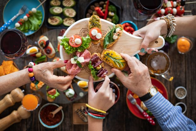 Kochkurs Online Tapas – gemeinsam Tapas essen