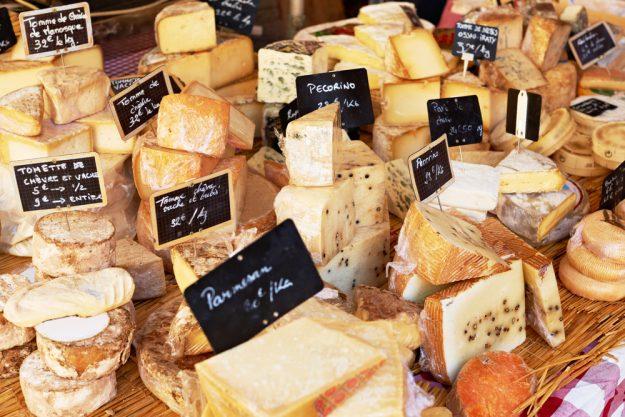 Kulinarische Stadtführung – frischer Käse