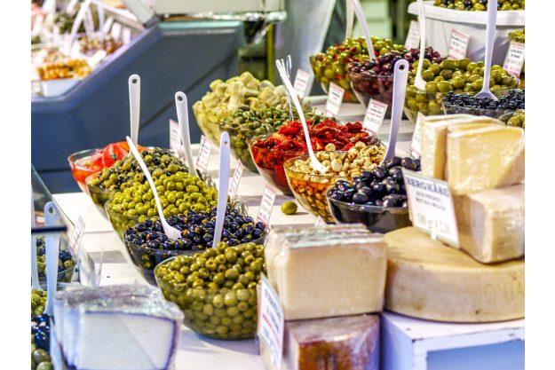 Kulinarische Stadtführung – Käse und Oliven