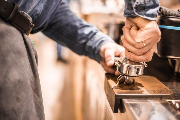 Latte-Art-Kurs Wien – Tampen