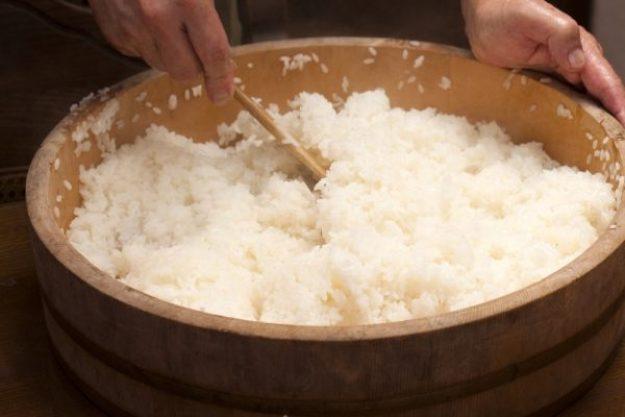 Online-kochkurs sushi Sushi-Reis