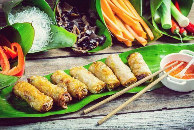 Streetfood-Kochkurs Wien – knusprige Sommerrollen Vietnam