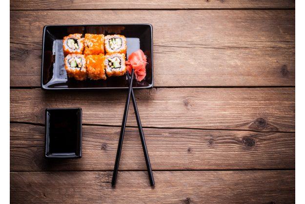 Sushi-Kochkurs Wien –  Sushi auf Tisch