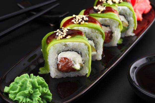 Sushi-Kochkurs Wien – Sushi mit Wasabi