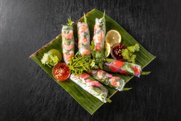 vietnamnesischer Kochkurs online Sommerrollen
