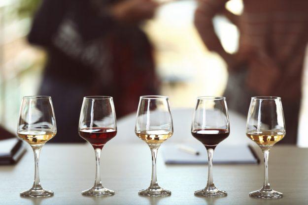 Weinseminar Wein – Wein in einer Reihe