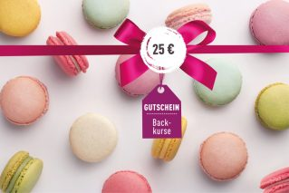 Backkurs-Gutschein Backkurs-Gutschein 25€