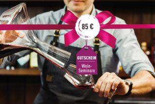 Weinseminar-Gutschein Weinseminar-Gutschein 85€
