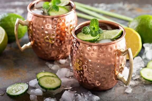 Cocktailkurs in Wien – Moscow Mule