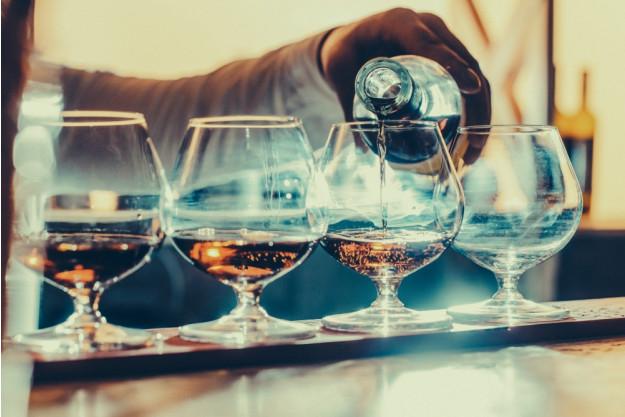 Cognac-Tasting Wien – Cognac einschenken