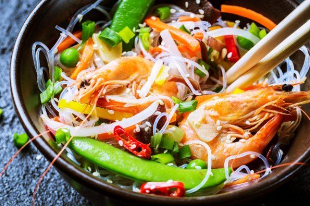 Köstliches Fernöstliches - Shrimps