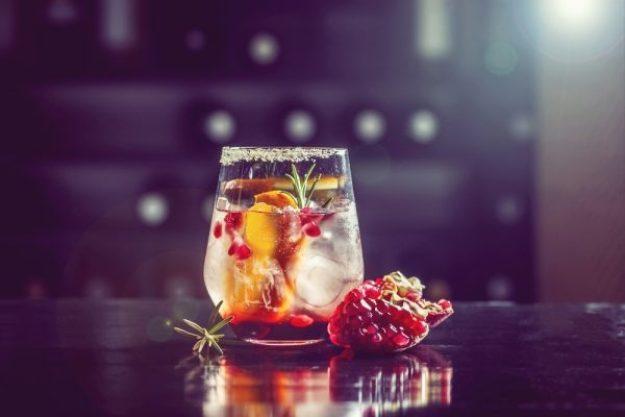 Gin-Tasting Wien –Gin mit Granatapfel
