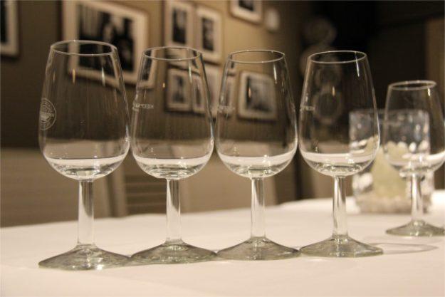 Gin-Tasting Wien – leere Gläser