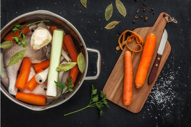 Saucen-Kochkurs Wien – Gemüsebrühe