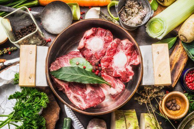 Saucen-Kochkurs Wien – Knochen für Brühe