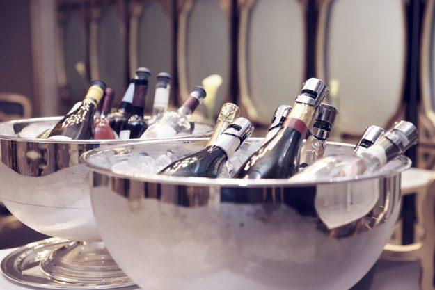 Schaumwein-Tasting Wien – gekühlter Champagner