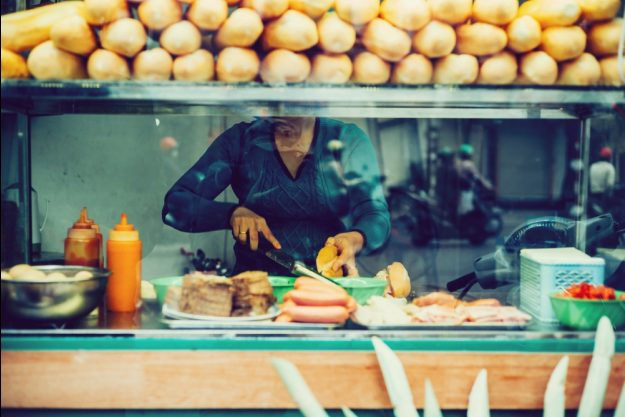Streetfood-Kochkurs Wien – typische Streetfood-Küche in Vietnam
