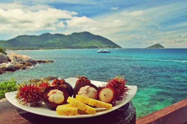 Thai-Kochkurs Wien – Früchte und Meer