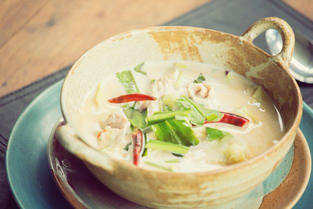 Thai-Kochkurs Wien – Tom Kha Gai