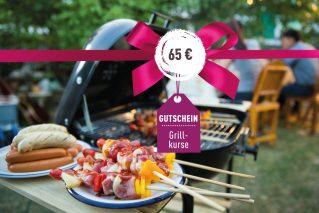 Grillkurs-Gutschein Grillkurs-Gutschein 65€