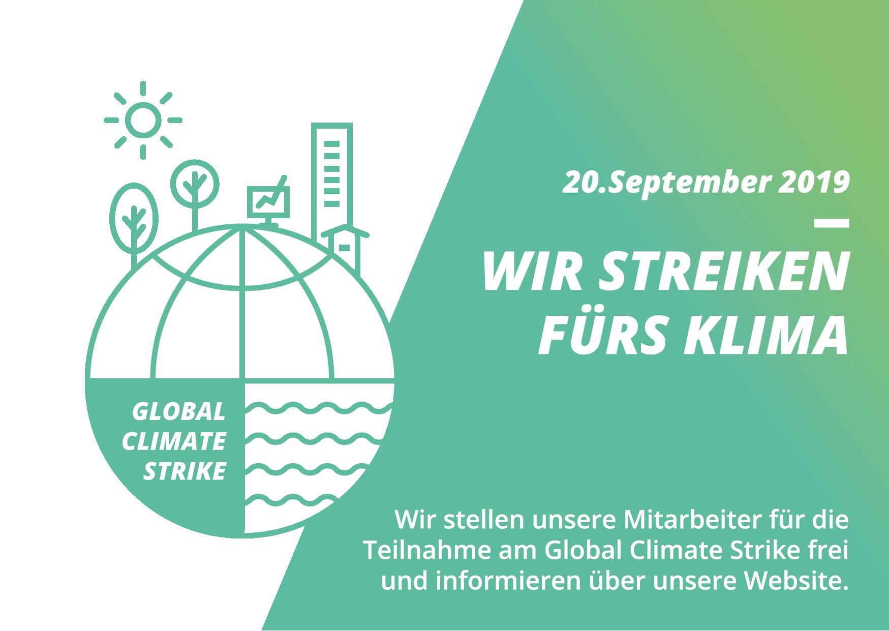 Wir streiken fürs Klima